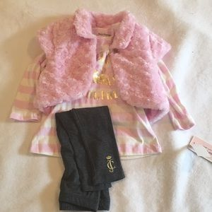 NWT Juicy Couture 3 piece set